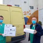 Donación de material EPI - Alimer